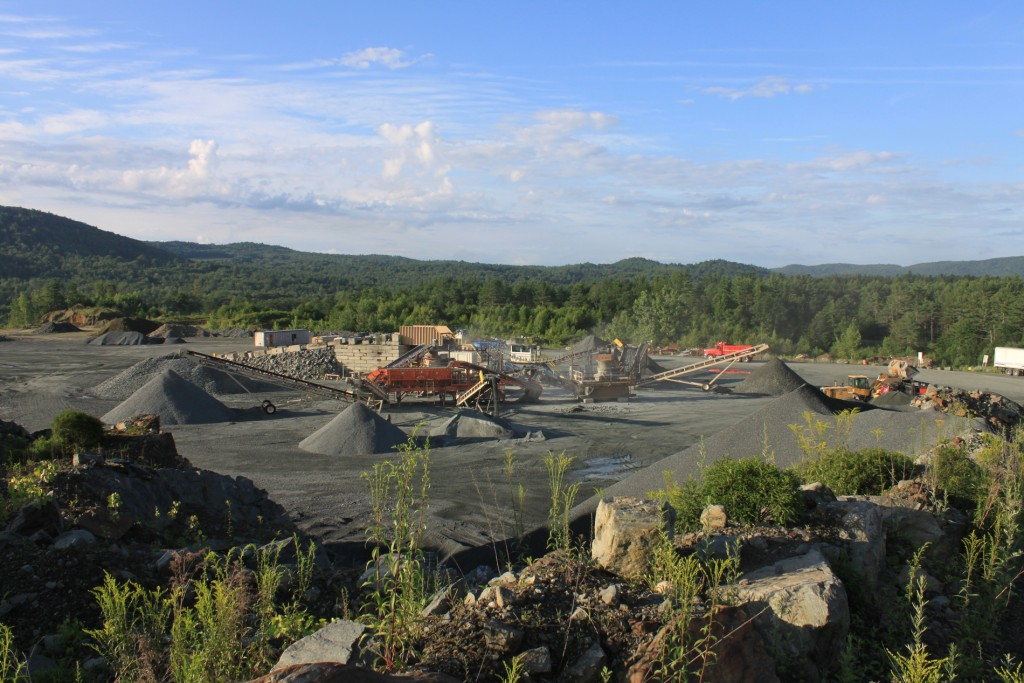 Sand and Gravel Construction Materials in NH and VT