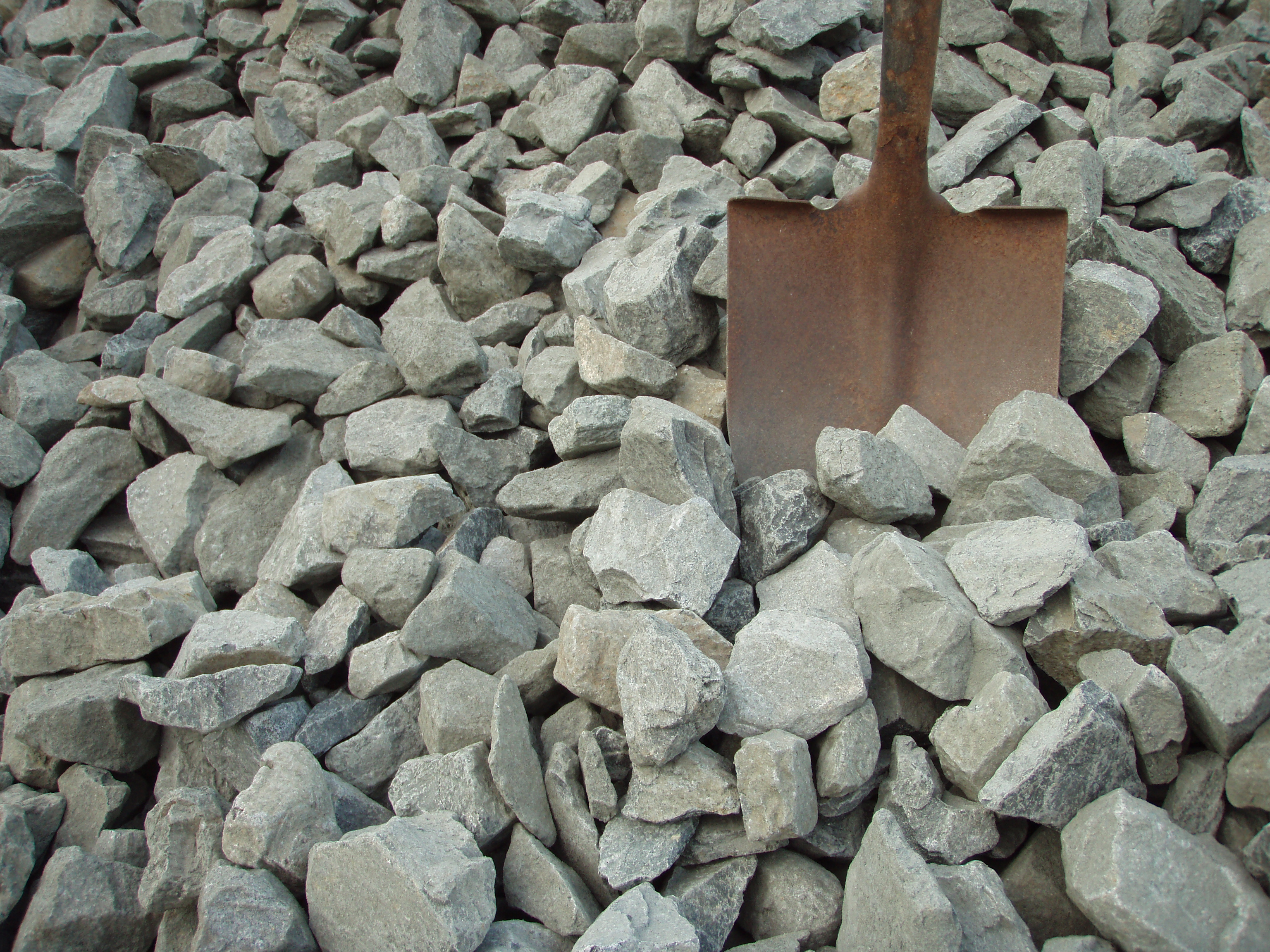 3 8 Inch Stone With Stone Dust : Ledge materials twin state sand and gravel